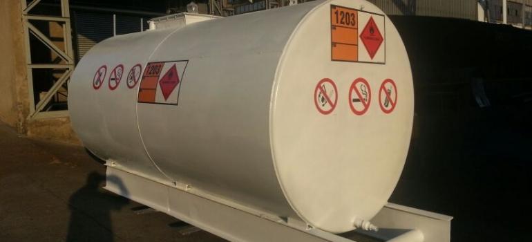 Refurbished diesel tank