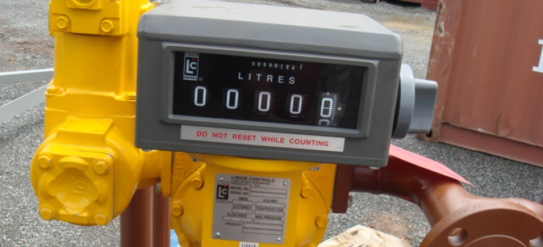 Petrochemical flow meter