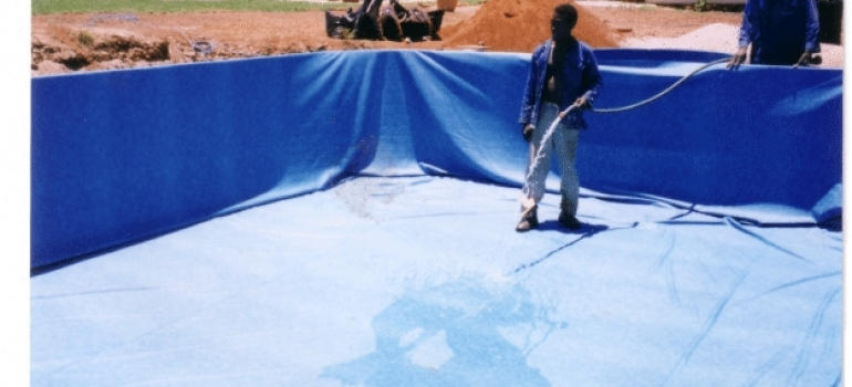 Hydrex swimming pool installation