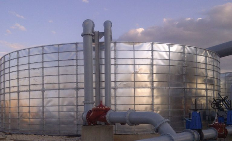 Process water tank