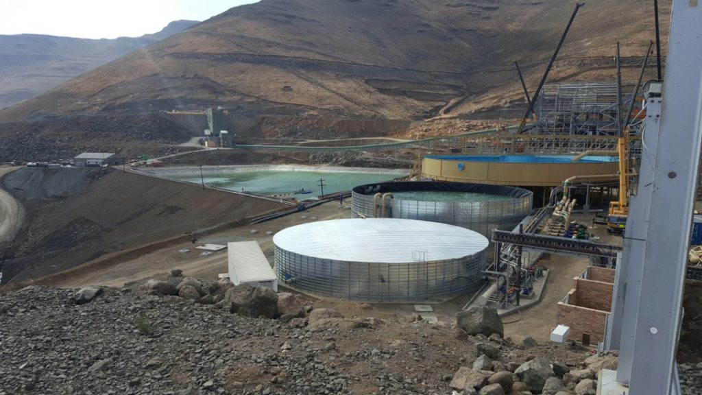 Hydrex mining reservoirs