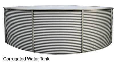 Industrial Zincalume Tank