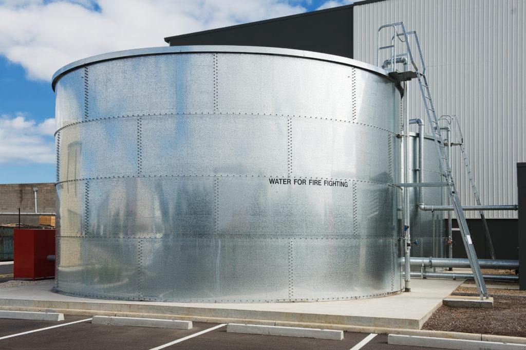 Fire water tank
