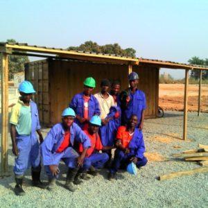 Hydrex mining installation team
