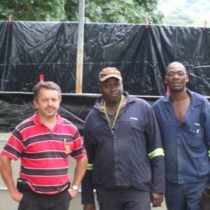 Hydrex Construction teams